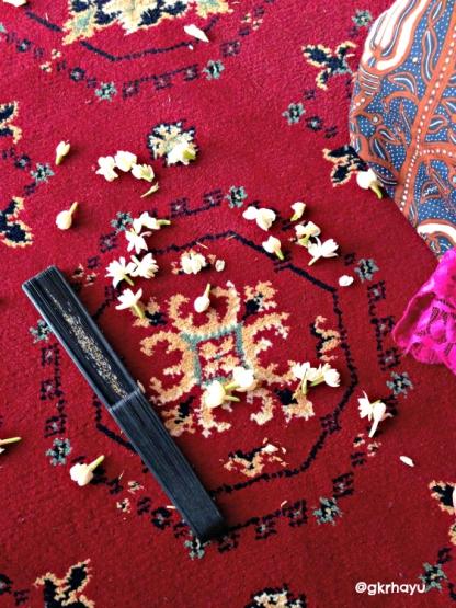 Karpet di Bangsal Proboyekso