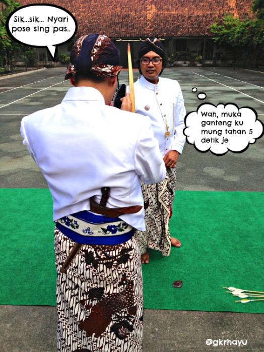 Mencari2 pose ganteng
