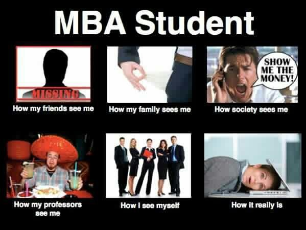Reality of MBA Student