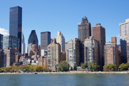 Pemandangan Midtown Manhattan