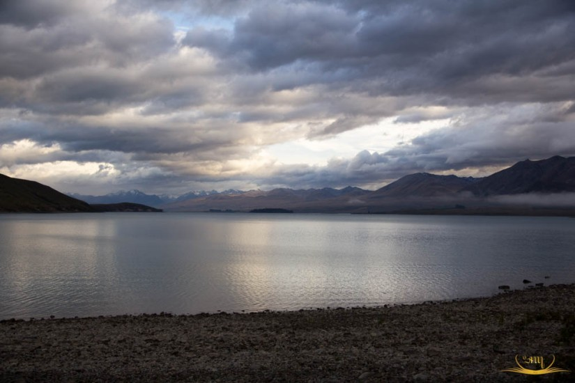 Danau Tekapo di Christchurch, NewZealand